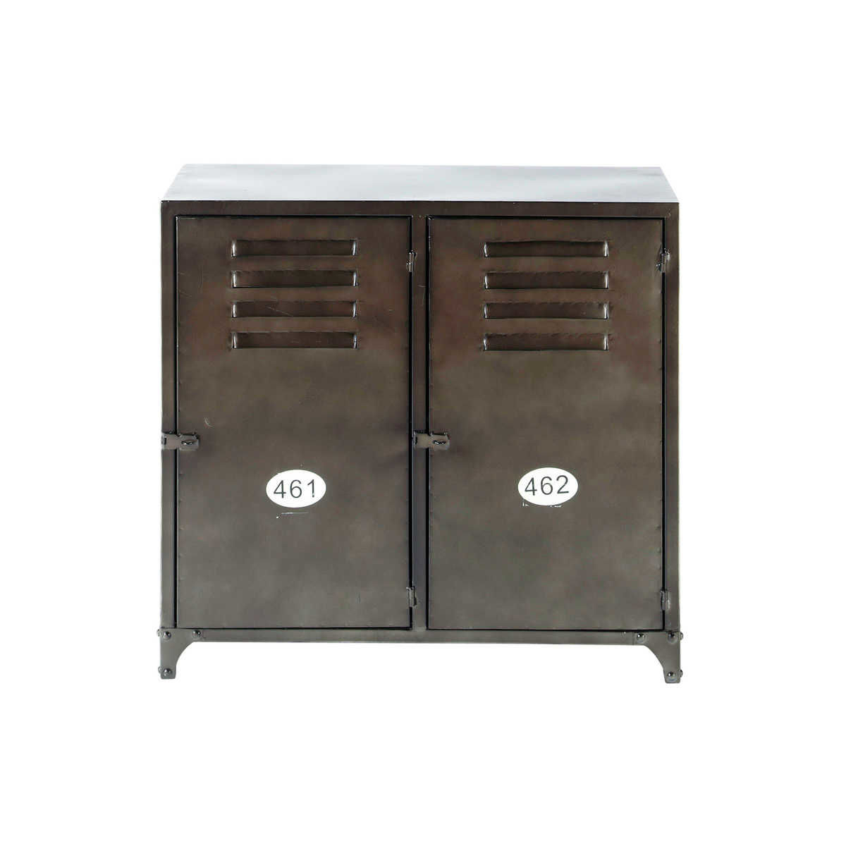 Industrial 2 door metal sideboard maisons du monde - Maison du monde uk ...