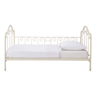 Ivory Metal Daybed 90 x 190
