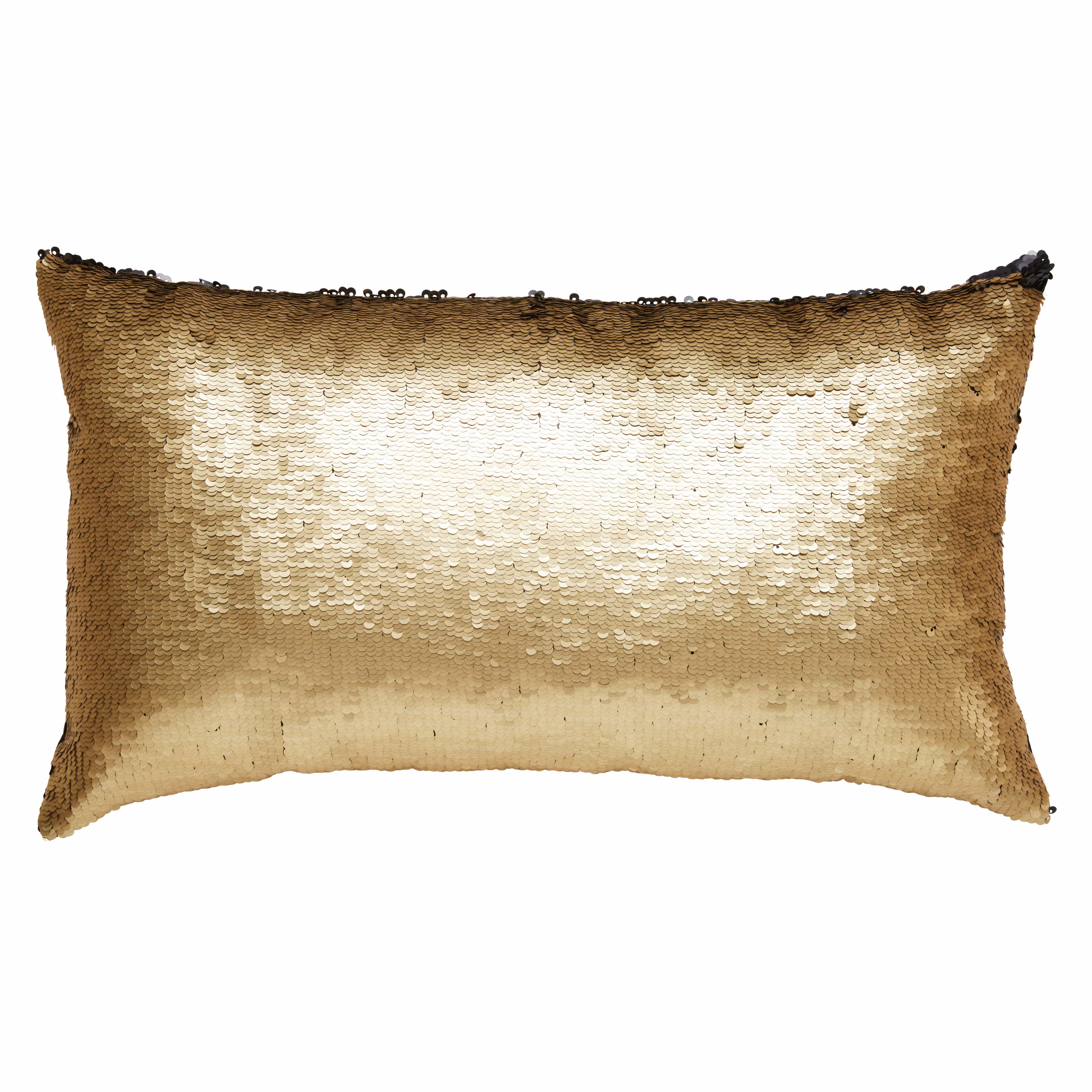 pillow mermaid shipping marlo melody reversible lorenz gold by pin thro inch free sequin