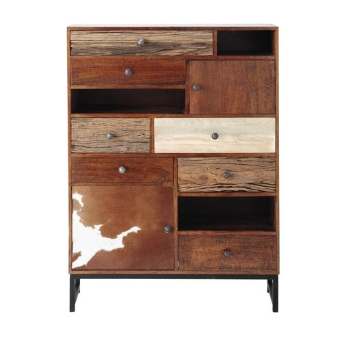 kommode aus mangoholz b 100 cm montana maisons du monde. Black Bedroom Furniture Sets. Home Design Ideas