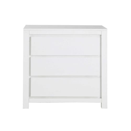 kommode aus massivholz b 85 cm wei white maisons du monde. Black Bedroom Furniture Sets. Home Design Ideas