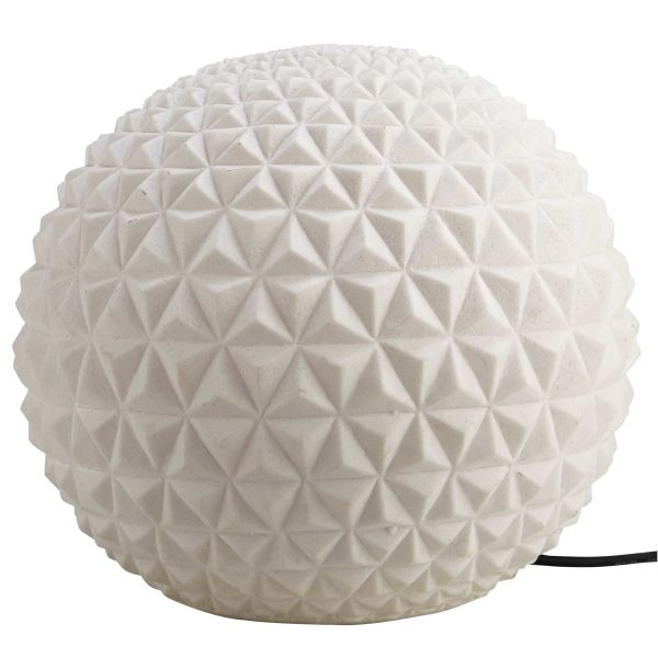 Lampe boule écru NIGHT BALL