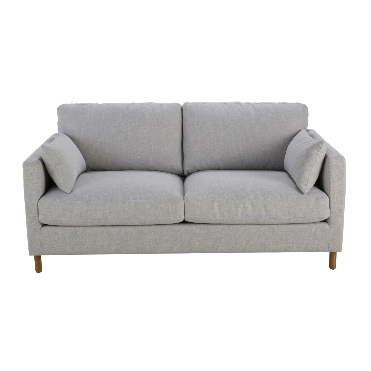 Light grey 3 seater sofa bed maisons du monde - Maison du monde uk ...