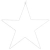 Lighted Metal Star