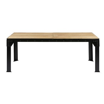 Dining tables extendable dining table maisons du monde - Table console extensible 12 personnes ...