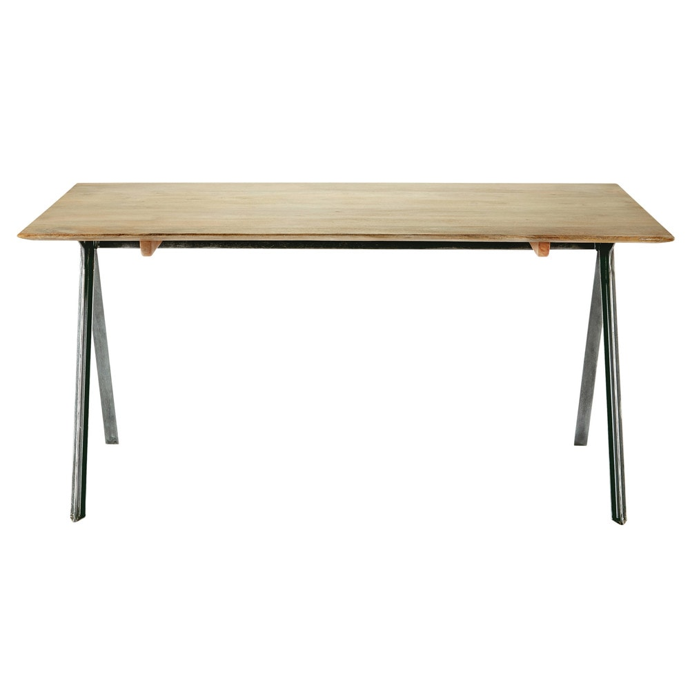 Mango wood dining table W 160cm