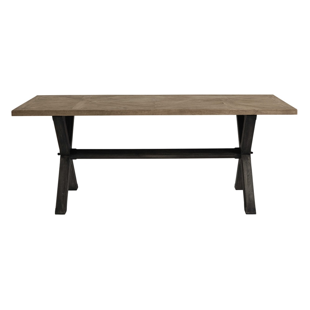 Mango wood dining table W 200cm