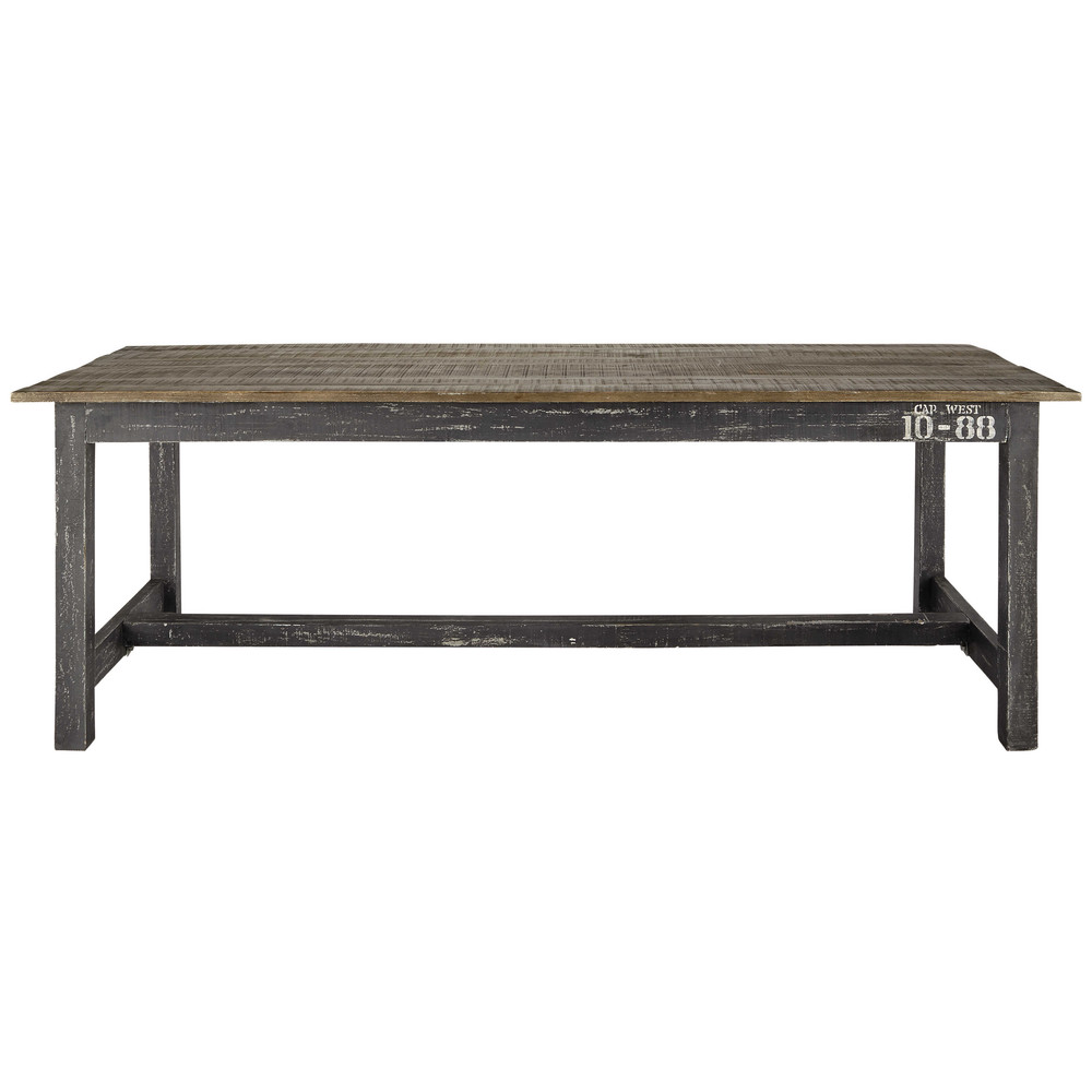 Mango wood dining table W 220cm