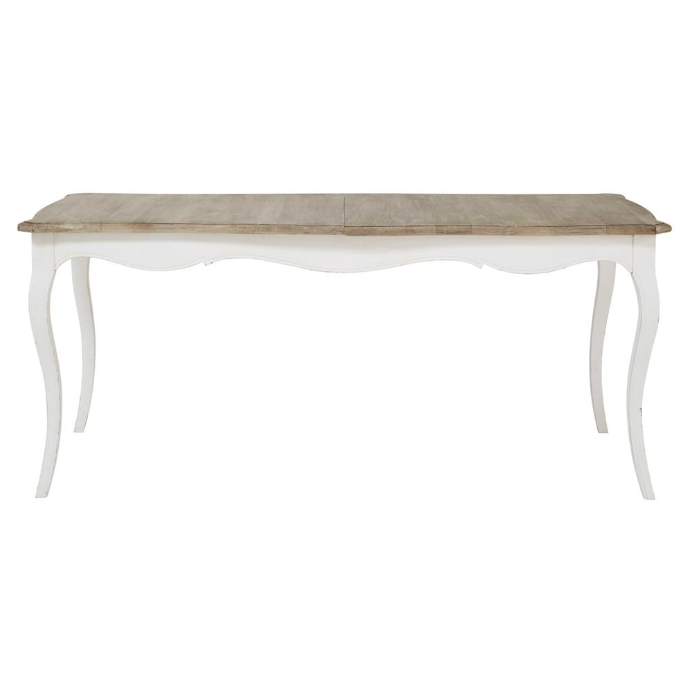 Mango Wood Extendible 8 10 Seater Dining Table W 180/220 cm