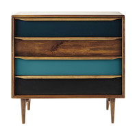 Mango wood vintage chest of drawers Janeiro