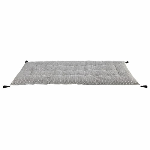 matelas gaddiposh en coton noir blanc 90 x 190 cm molina maisons du monde. Black Bedroom Furniture Sets. Home Design Ideas