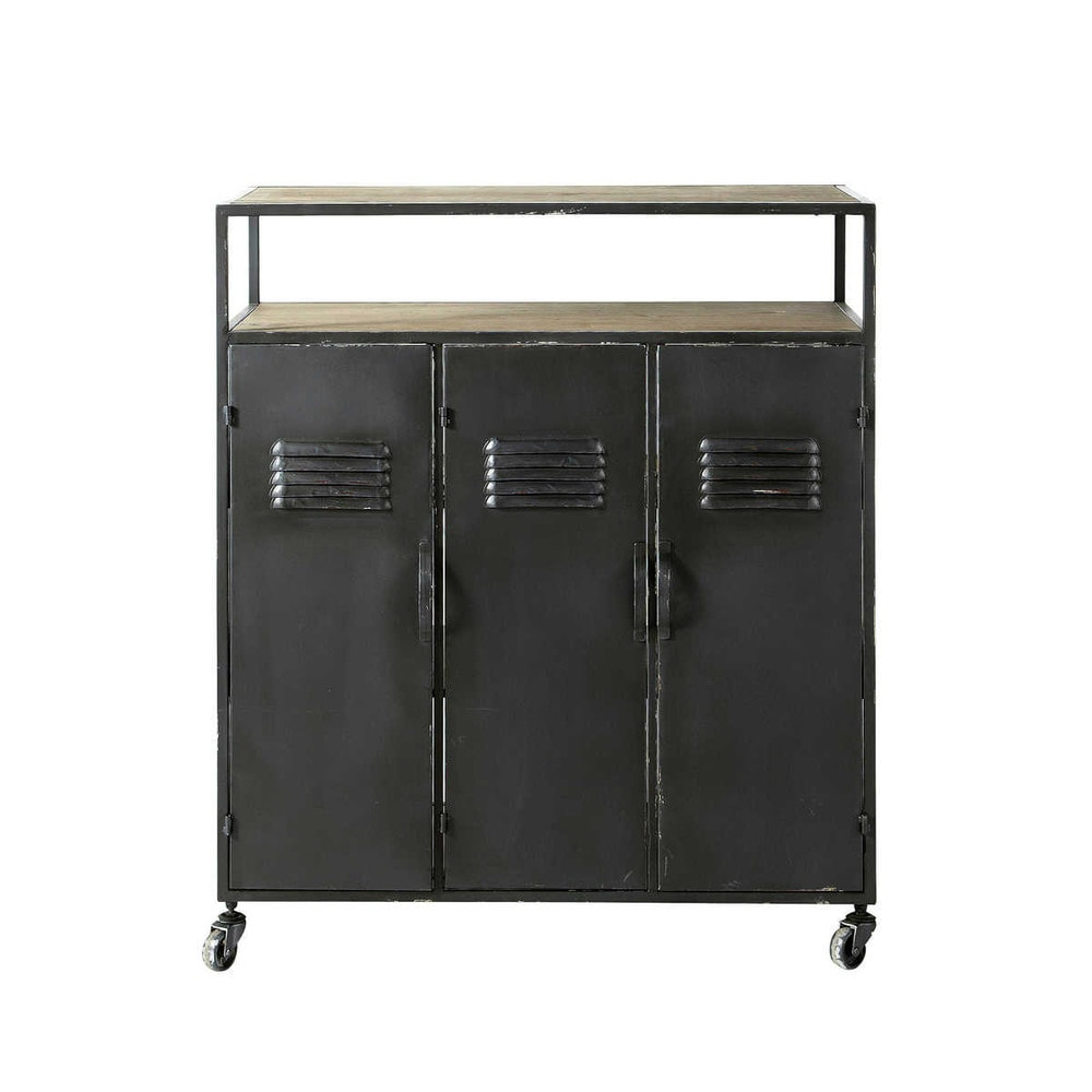 industrial drinks trolley from Maisons Du Monde
