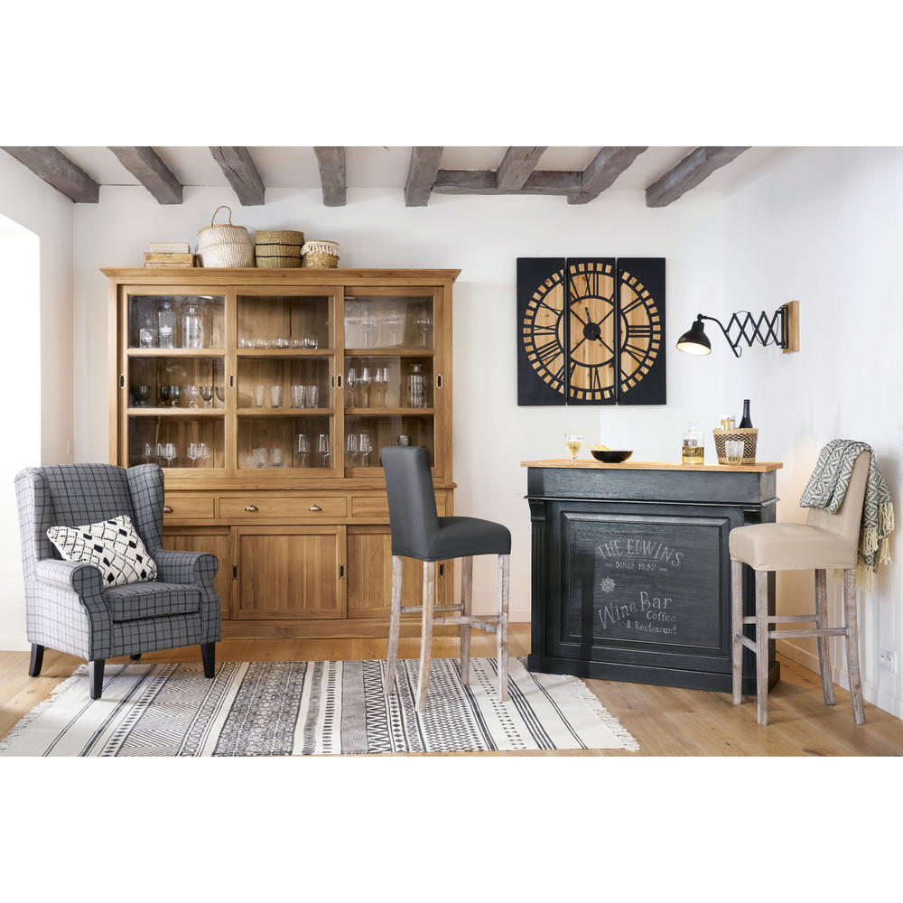 elegant germain with etagere murale pour bar. Black Bedroom Furniture Sets. Home Design Ideas