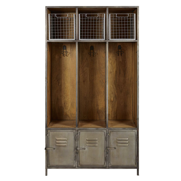 Mobilier d entree jusqu 69 pureshopping for Meuble manguier massif