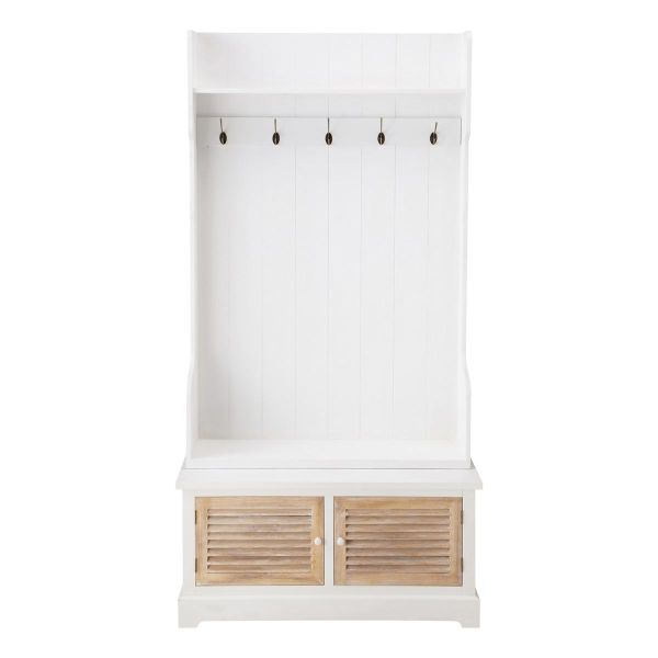 Meuble entr e blanc for Deco entree blanc