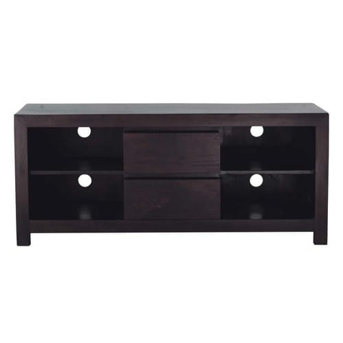 meuble tv en manguier massif l 140 cm bengali maisons du monde. Black Bedroom Furniture Sets. Home Design Ideas