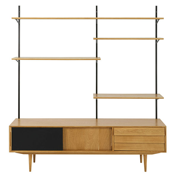 Etagere Meuble Tv Sellingstg Com # Pose Tele En Bois