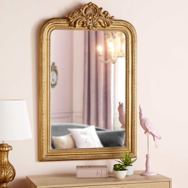 miroir dor achat vente de miroir pas cher. Black Bedroom Furniture Sets. Home Design Ideas