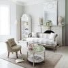 miroir trumeau en sapin blanc h 160 cm mirano maisons du monde. Black Bedroom Furniture Sets. Home Design Ideas