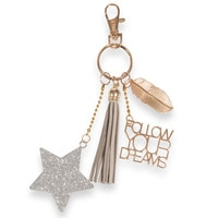 metal key ring Modern Stella