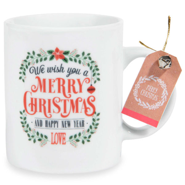 Mug en porcelaine MERRY CHRISTMAS
