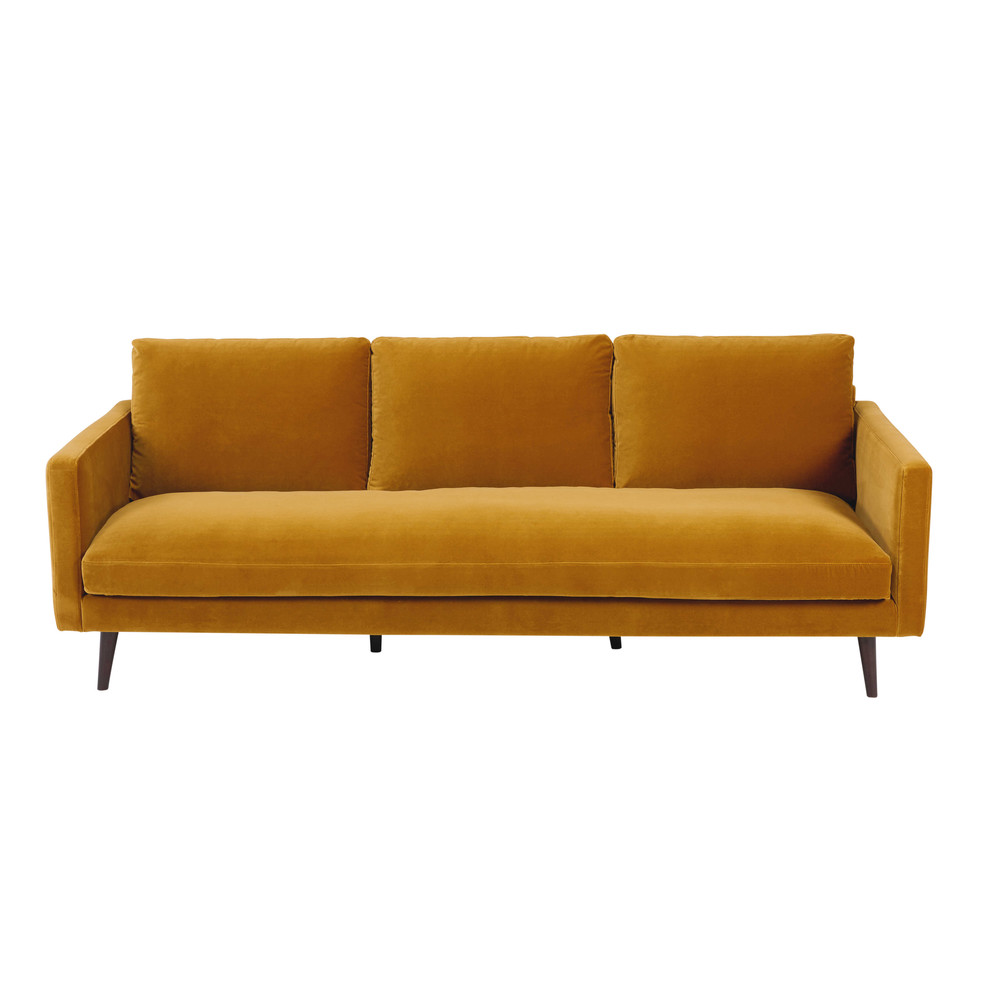 Mustard sofa 16 best mustard sofa images on pinterest sofas canap s and living thesofa - Maison du monde sofa ...
