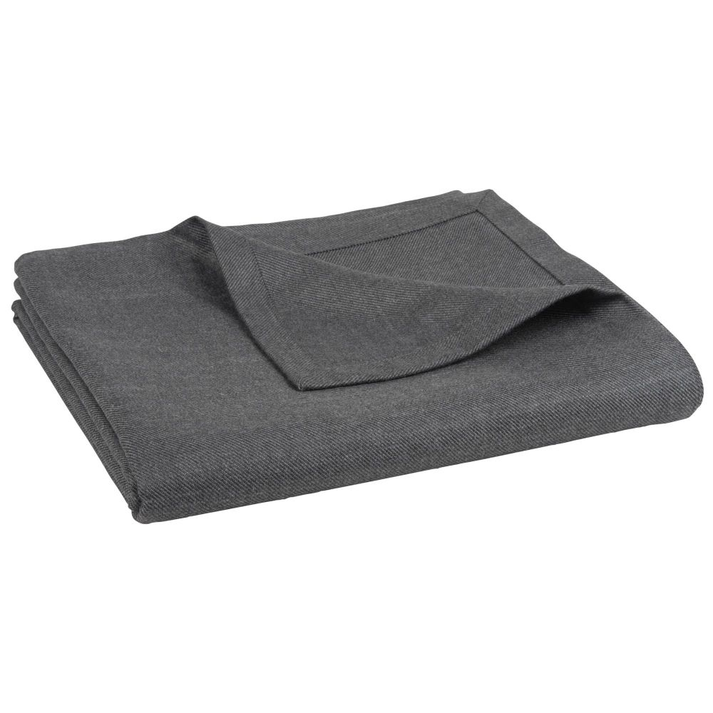 Nappe gris anthracite 140x250