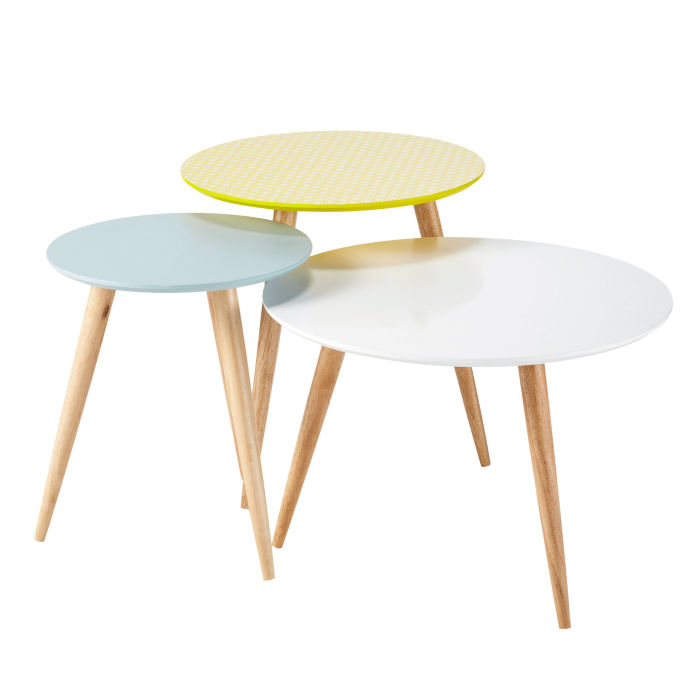 nest of vintage tables maisons du monde