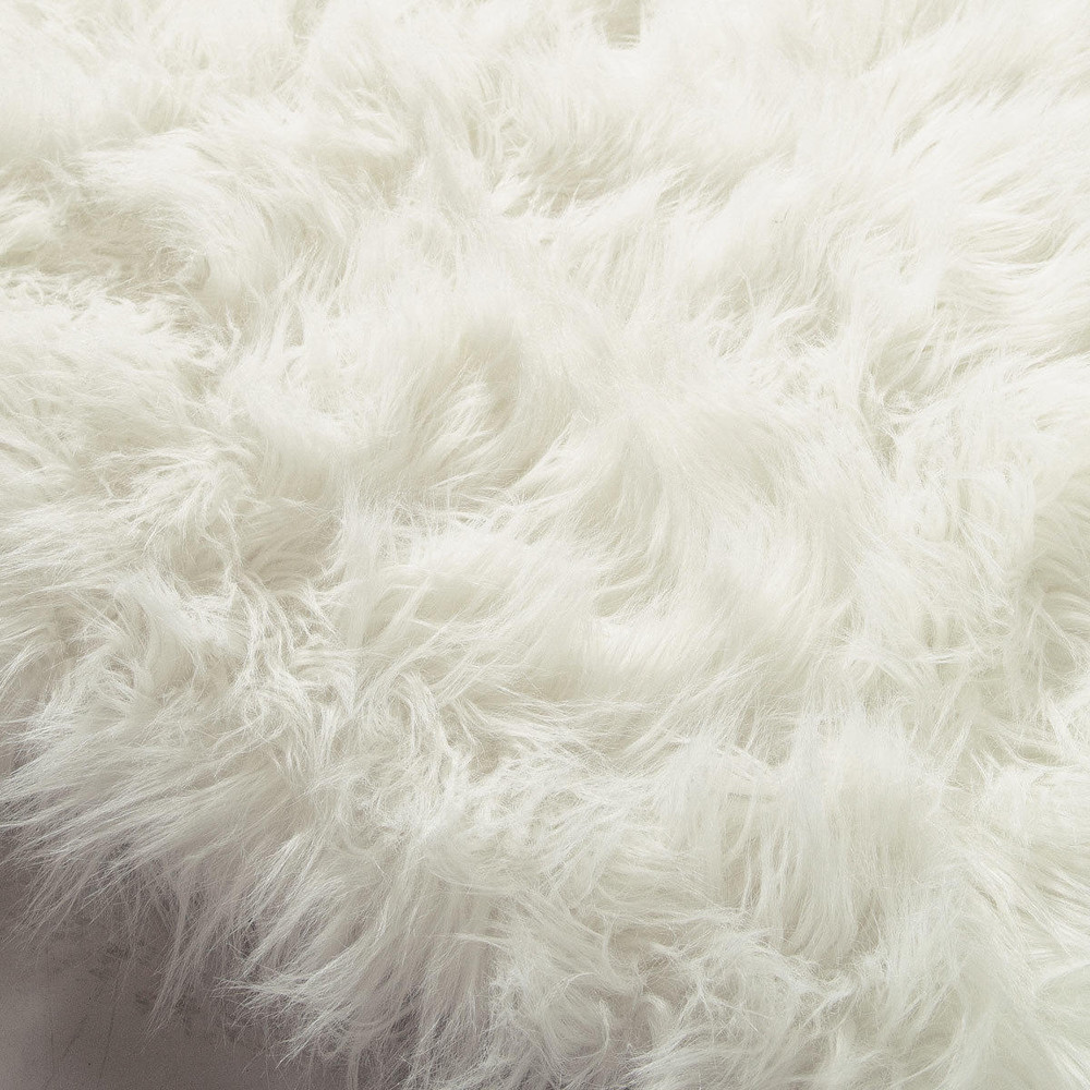 white big fur best furry things rug decor