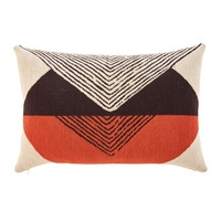 Outdoor Cushion with Graphic Motifs 40x60
