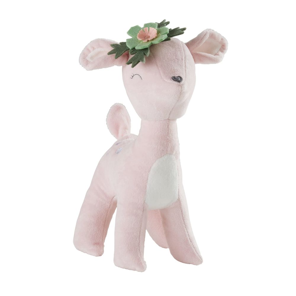 Peluche biche rose (photo)