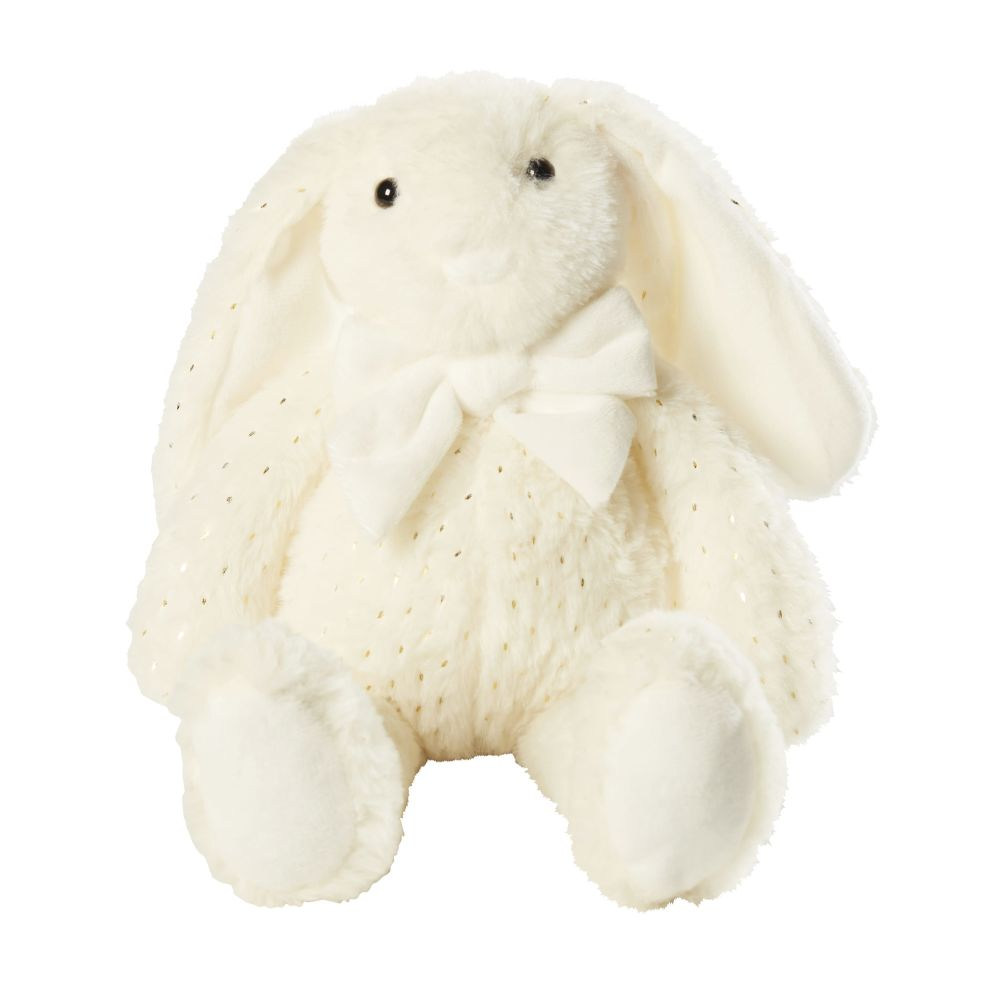Peluche lapin écrue (photo)