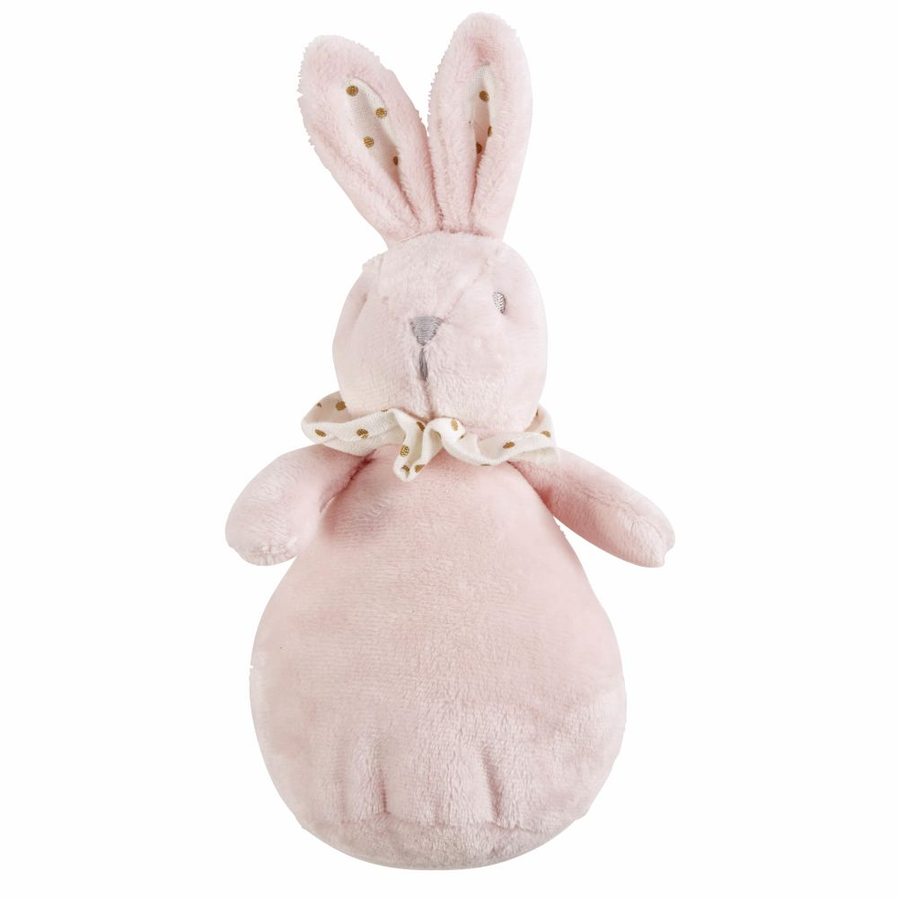 Peluche lapin rose (photo)
