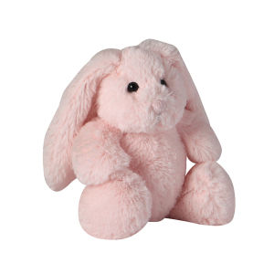Peluche lapin rose H 23 cm BUNNY