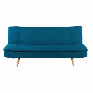 Petrol Blue 2/3-Seater Sofa Bed