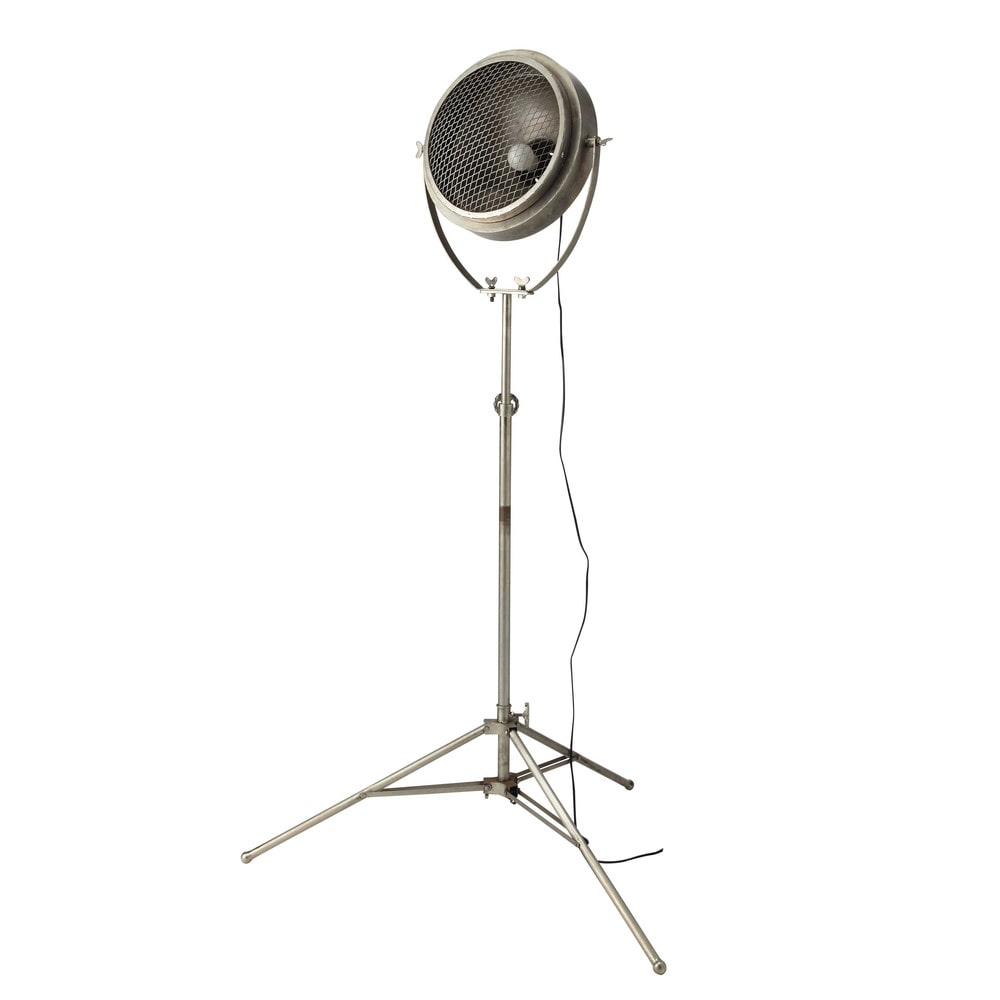 PHARE metal adjustable floor lamp with tripod H 170cm