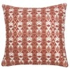Pink Cotton Cushion Cover with Graphic Print 40 x 40 cm