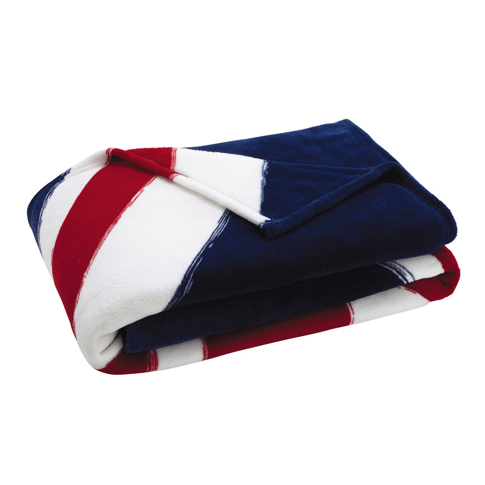 Plaid drapeau anglais 130 x 170 cm UK (photo)