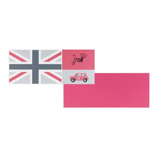 plateau de bureau r versible rose drapeau anglais l 150 cm desk maisons du monde. Black Bedroom Furniture Sets. Home Design Ideas