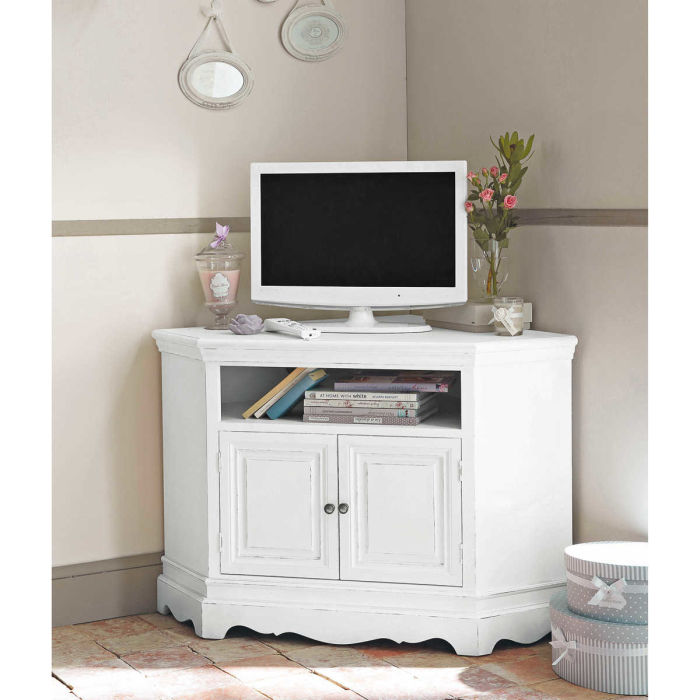 Josephine Maison Du Monde Wooden Dressing Table In White W Cm  # Meuble Tv Josephine Maison Du Monde