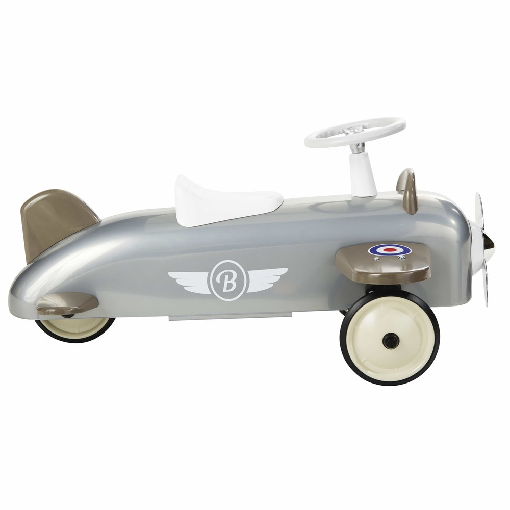 Porteur avion en métal gris BAGHERA (photo)
