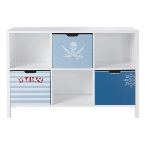 regal kommode f rs kinderzimmer pirate pirat maisons du monde. Black Bedroom Furniture Sets. Home Design Ideas