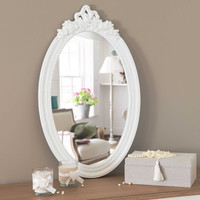 mirror in white H 65cm Romane