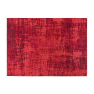 Roter Teppich mit Jacquardmuster 140x200