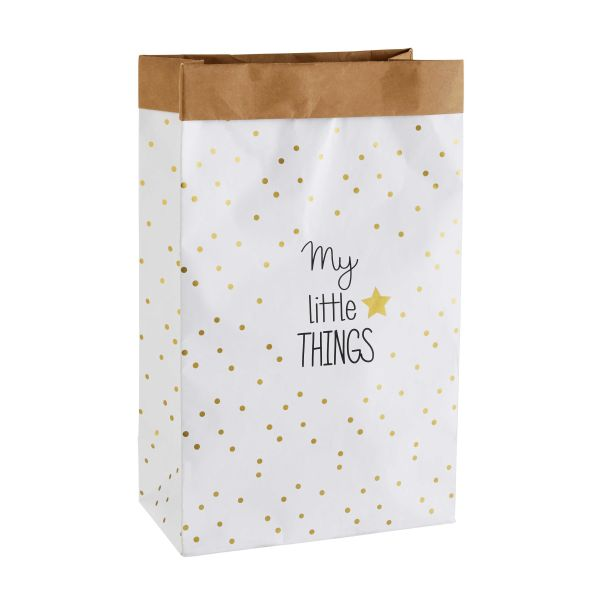 Sac de rangement en papier LITTLE THINGS