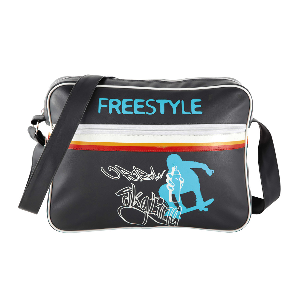 Sac en bandoulière noir FREESTYLE (photo)