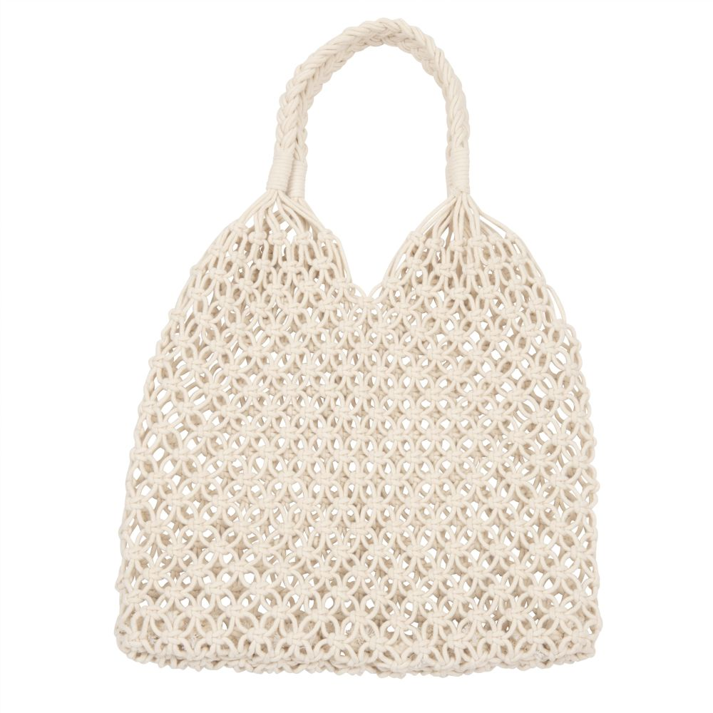 Sac en coton crocheté (photo)