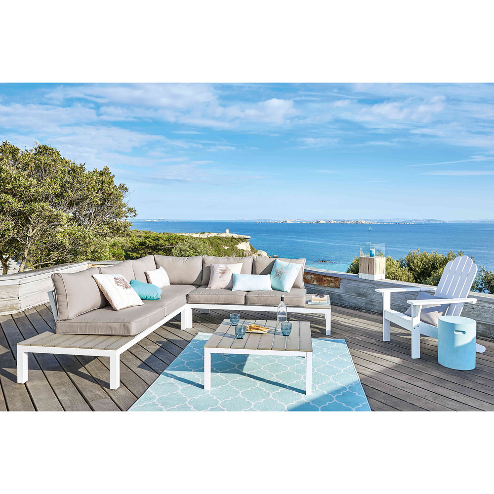 Stunning Table Jardin Composite Blanc Gallery - Amazing House ...