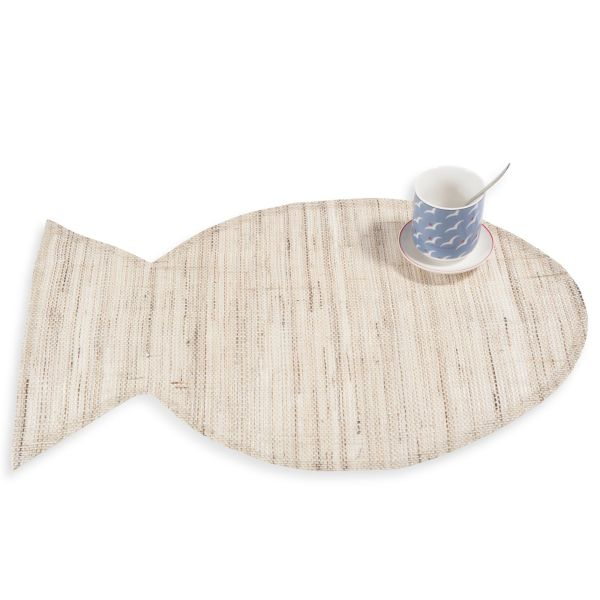 Set de table en jute 30 x 45 cm POISSON