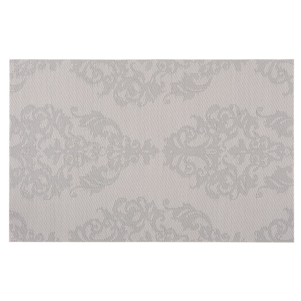 Set de table motifs fantaisies gris